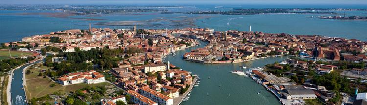 Foto aérea Murano