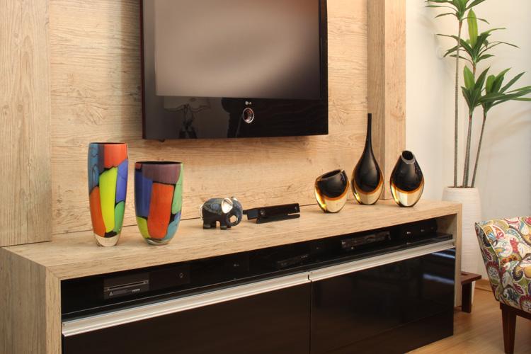 decoracao de sala rack:Decoração para o Rack da sua Televisão – Cristais Cá d'Oro