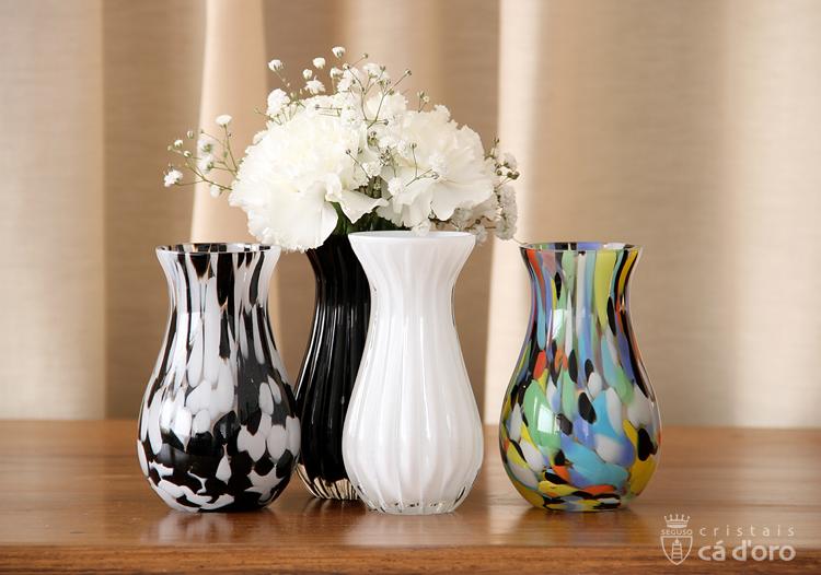 Vasinhos para a decoração da mesa