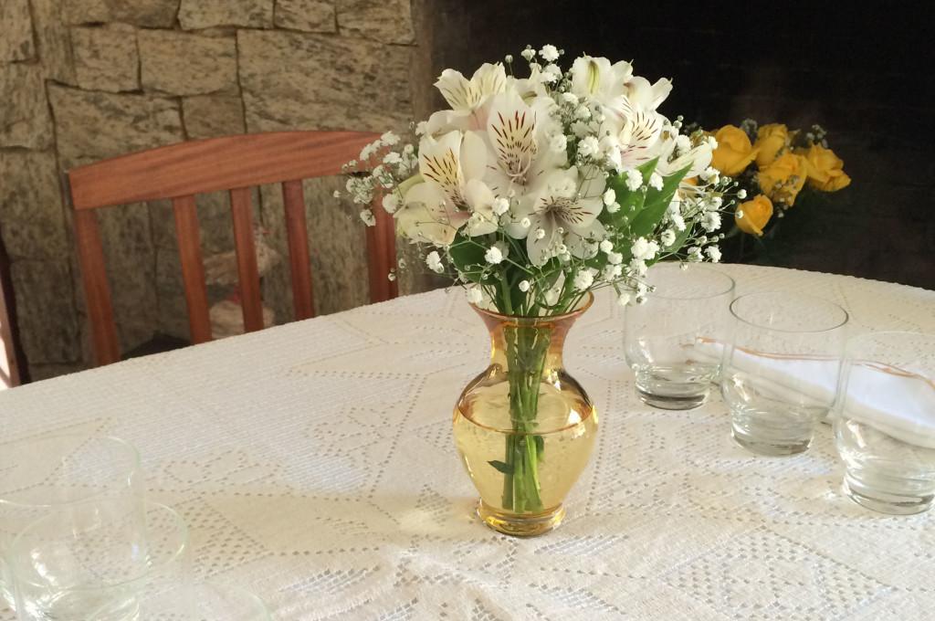 Vaso 78 na decoração da mesa