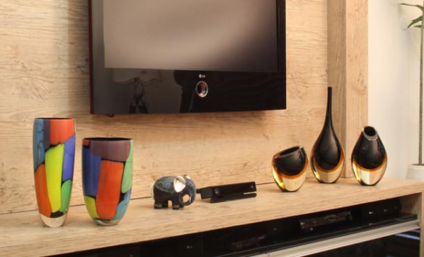 Decoração dos Móveis da Televisão