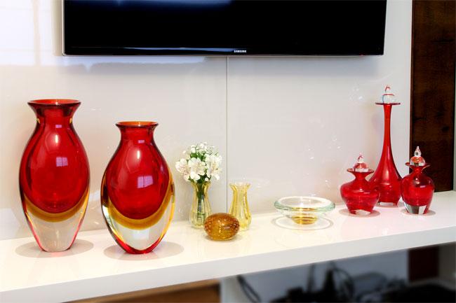 Vasos / Pesos para Papel / Garrafas Decorativas / Vasinhos / Centro Maciço